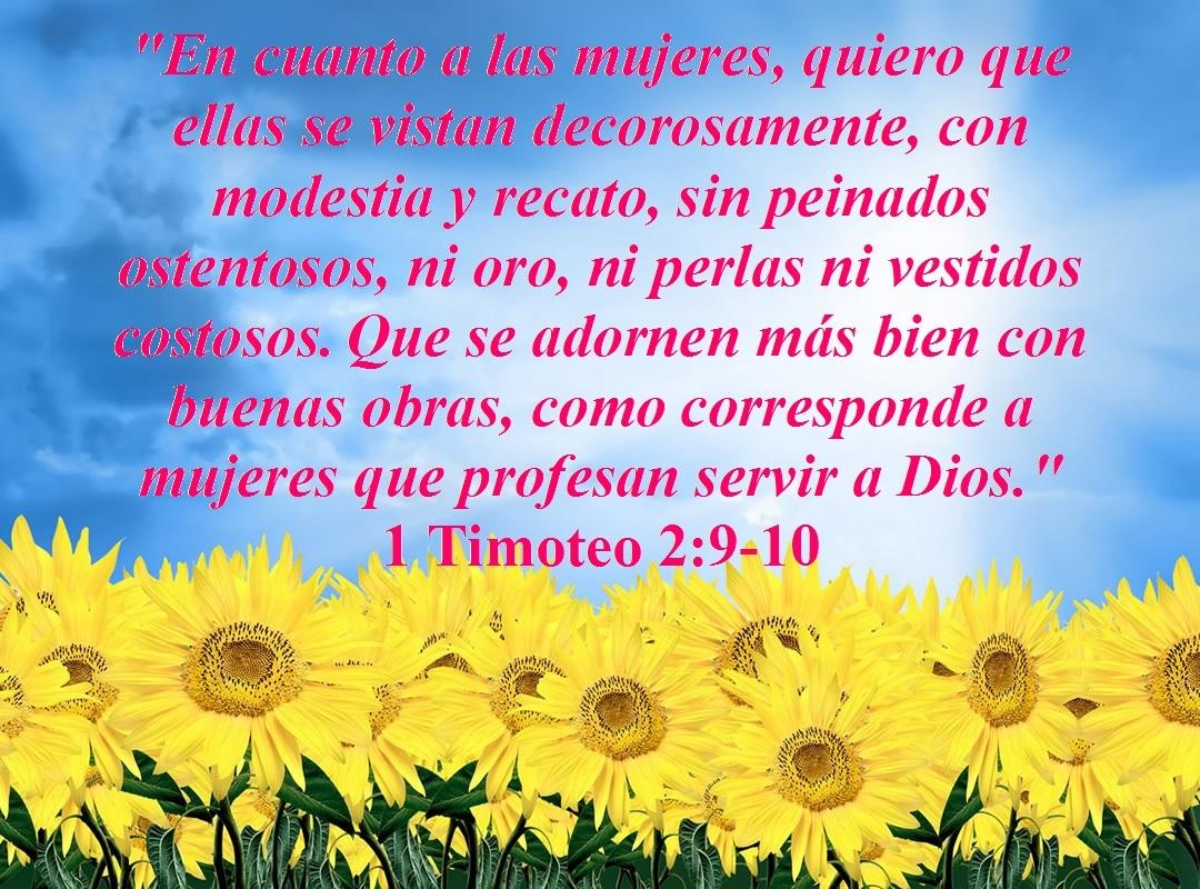 Qué dice la Biblia acerca de la modestia? – 1 Timoteo 2:9-10