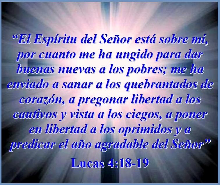 JESÚS ENSEÑA ACERCA DEL AÑO AGRADABLE DEL SEÑOR – Lucas 4:18-19