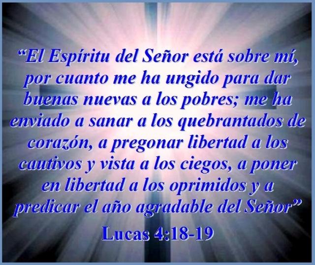 JESÚS ENSEÑA ACERCA DEL AÑO AGRADABLE DEL SEÑOR – Lucas 4:18-19 | Mission  Venture Ministries en Español