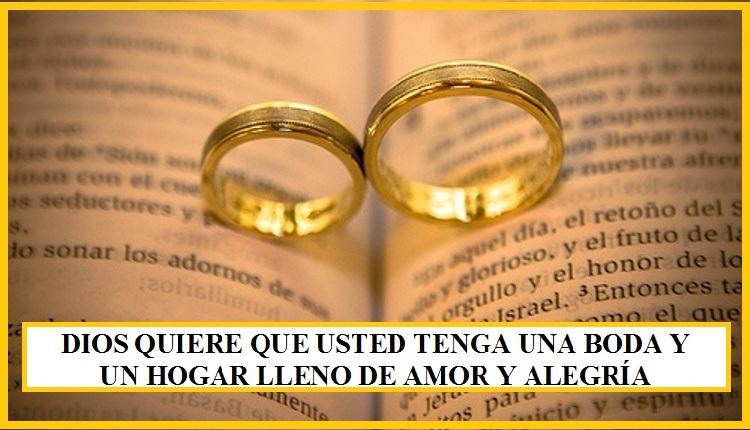Matrimonio Biblia Versiculos : Dios quiere que usted tenga una boda y un hogar lleno de