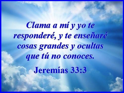 Jeremías 33 vs 3 S