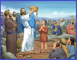 1 Jesus feeding the multitude