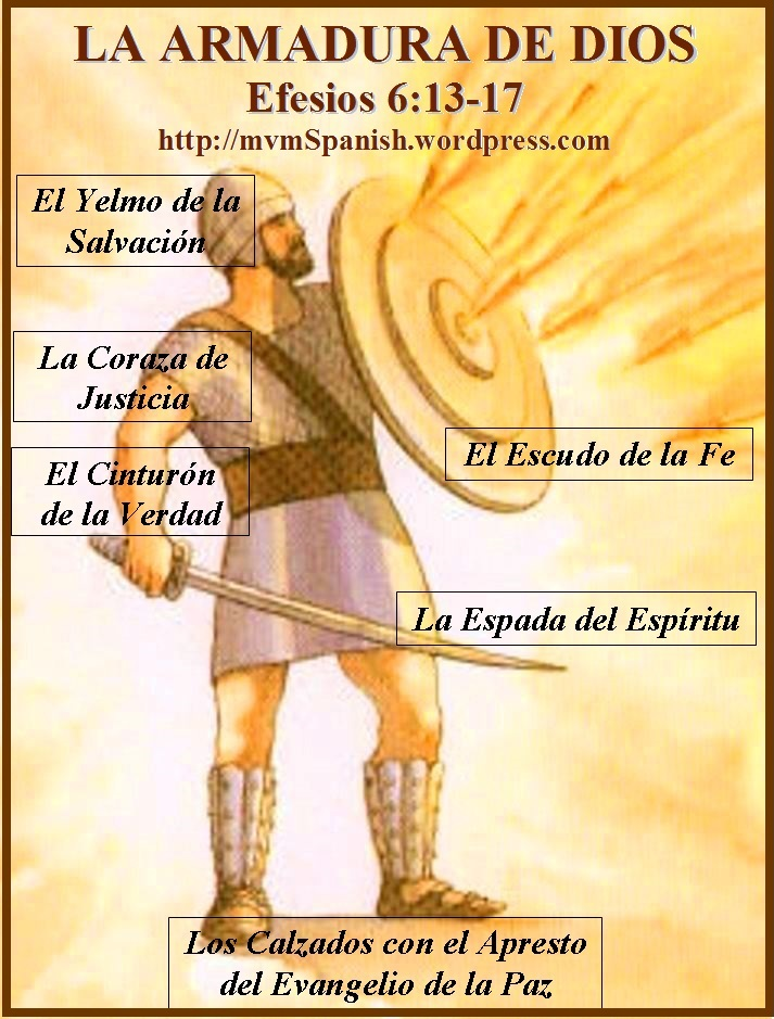 La Armadura De Dios Efesios 613 18 Mission Venture Ministries