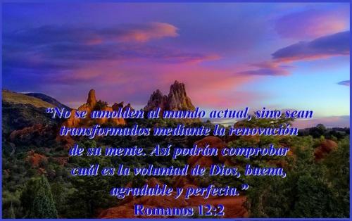 Romanos 12 vs 2 La mente en Dios MVM