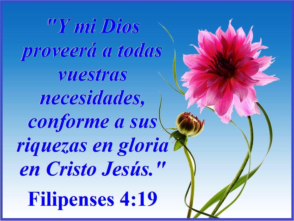 EL SEÑOR PROVEE PARA NUESTRAS NECESIDADES – Filipenses 4:19 ...