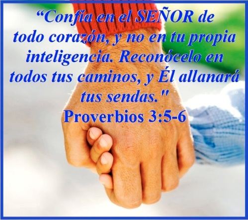 Proverbios 3 vs 5-6