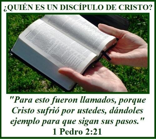 Quien es un discipulo de Cristo