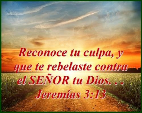 Jeremias 3 vs 13 (S)