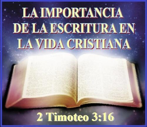 2 Timoteo 3 vs 16