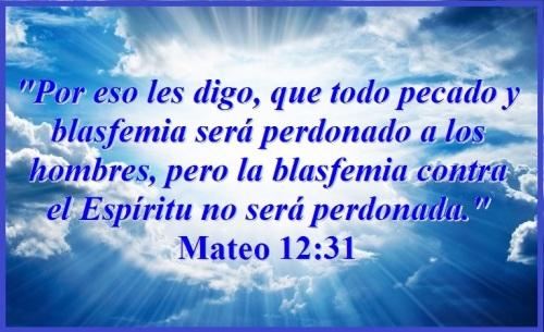 Mateo 12 vs 31
