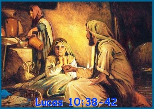 Lucas 10 vs 38-42 (S)