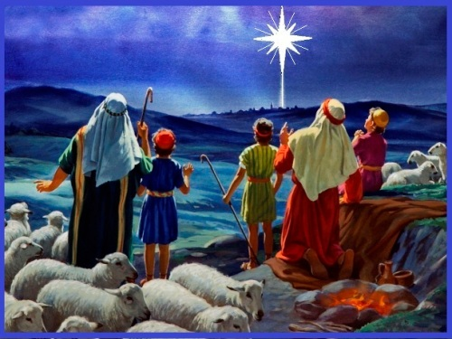 3 Shepherds and the anouncement of Jesus' birth