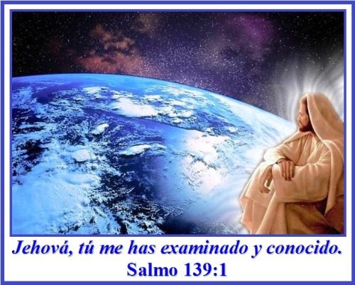 Jehová tú me has examinado