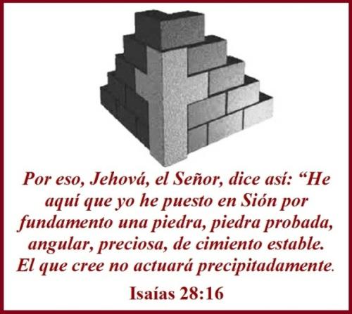 Isaías 28 vs 16 (S)