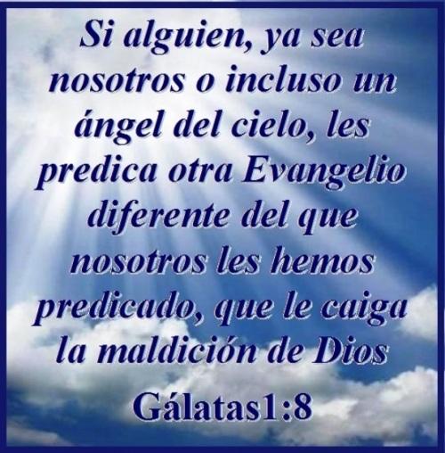 Gálatas 1 vs 8 (S)