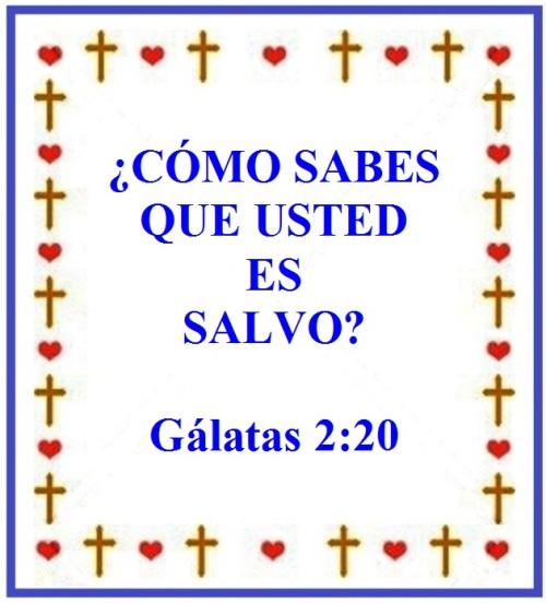 Gálatas 2 vs 20 (S)