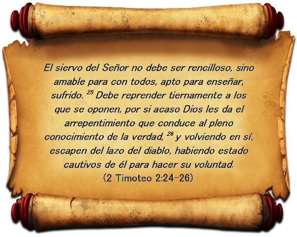 Sermones Sobre 1 Y 2 Timoteo 2 De Timoteo 2 Vs 24 26