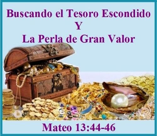 Mateo 13 vs 44-46