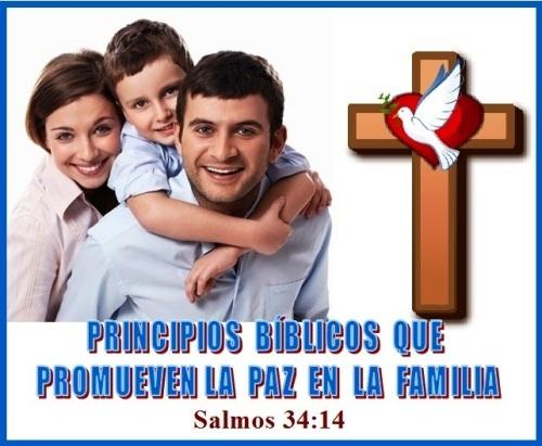 Paz en La Familia Salmos 34 vs 14