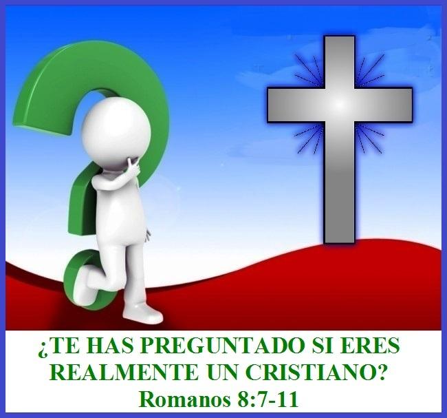 Te Has Preguntado Si Eres Realmente Un Cristiano Romanos 8 7 11 Mission Venture Ministries En Español