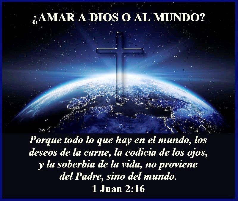 Amar A Dios O Al Mundo 1 Juan 2 16 Mission Venture Ministries En Español