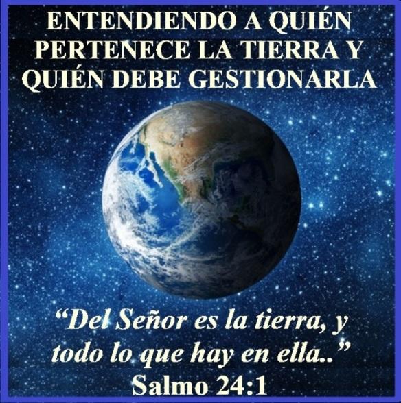 Entendiendo A Quién Pertenece La Tierra Y Quién Debe Gestionarla Salmo 24 1 Mission Venture Ministries En Español
